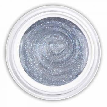 Farbgel silver blue metallic