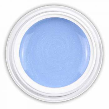 Farbgel creamy blue metallic