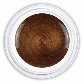 Farbgel lucid brown metallic