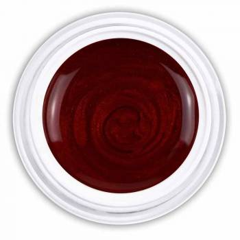 Farbgel lucid red metallic