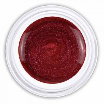 Farbgel yummy red metallic