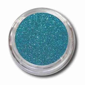 Nailart Glitter-Powder blau