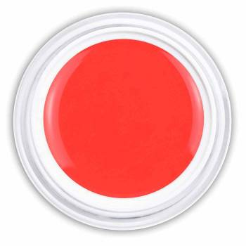 Glossy Farbgel coral red