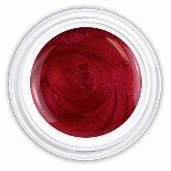Glossy Farbgel wine red