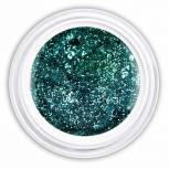 Farbgel mystical green glitter