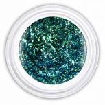 Farbgel smash green glitter