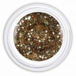 Farbgel highlight bronze glitter