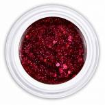 Farbgel fancy pink glitter