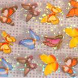 "Nail-Art Transfer-Folie ""Papillon Nr.1"""""