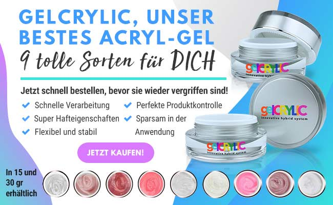 Poly Acryl Gel für Nageldesign